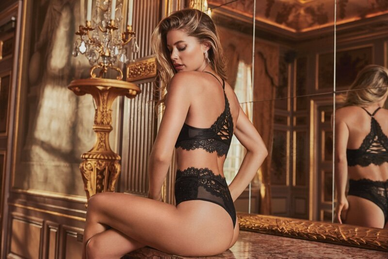 DoutzenKroes forHunkemollerLingerieFall2019Campaign20 - Erotic lingerie: Why is it the infallible ally to seduce your partner?